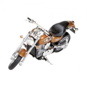 Welly Leksaksfordon Formpressad Motorcykel Kawasaki Rostbrun