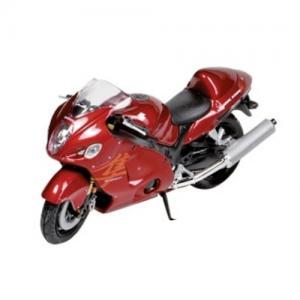 Welly Leksaksfordon Formpressad Motorcykel Suzuki Röd
