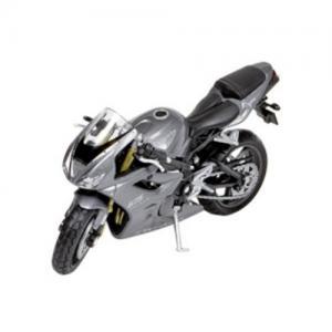 Welly Leksaksfordon Formpressad Motorcykel Triumph Grå