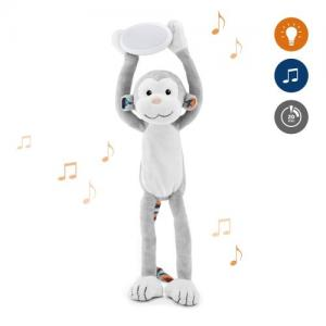 Zazu ​Stuffed animal with Nightlight & Melodies Monkey Max