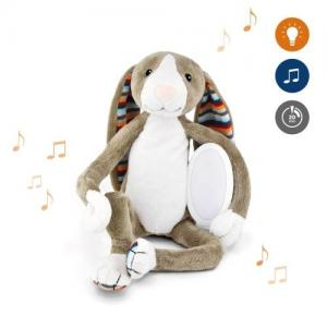 Zazu ​Stuffed animal with Nightlight & Melodies Hare Bo