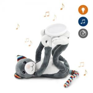 Zazu ​Stuffed animal with Nightlight & Melodies Cat Katie