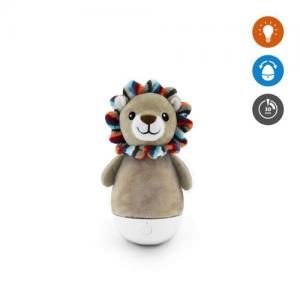 Zazu Lex Lion Rocker Toy & Night Light