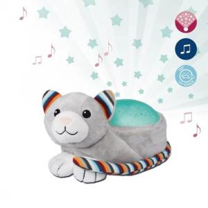 Zazu ​Stuffed Star Projector Nightlight & Melodies Kiki Kitten