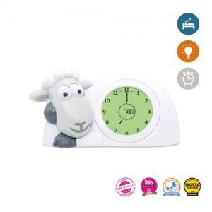 Zazu Sam Sleep Trainer / Alarm Clock Grey