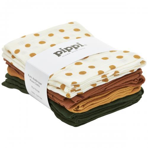 Pippi Vikblöja 70x70 8-pack
