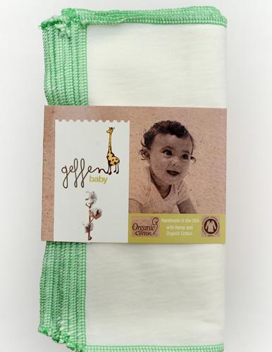 Geffen Baby Tvättlappar hampajersey 10-pack