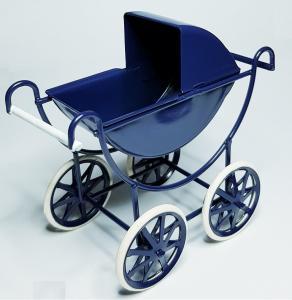 Barnvagn - marinblå