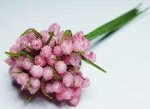 Blombukett - rosa