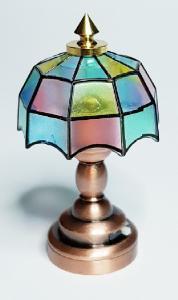 Bordslampa - Tiffany - batteri (LED)