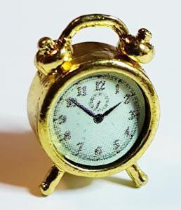 Klocka - bordsur - mässing