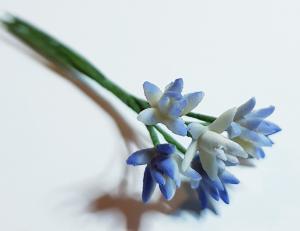 Blombukett - lila