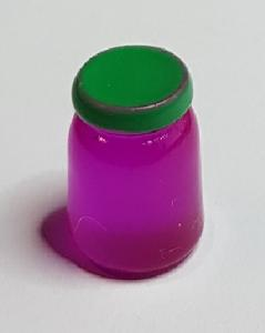 Glasburk - lila