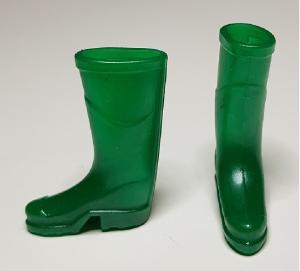 Gummistövlar - gröna
