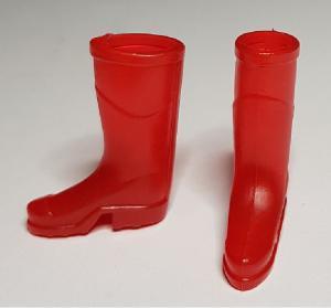 Gummistövlar - röda