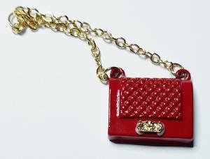 Handväska - röd