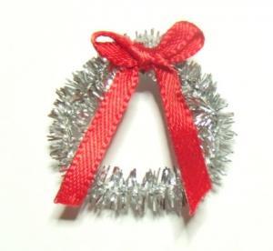 Julkrans - silver