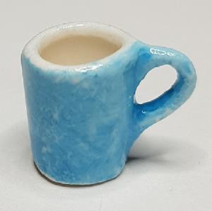 Kaffemugg - blå