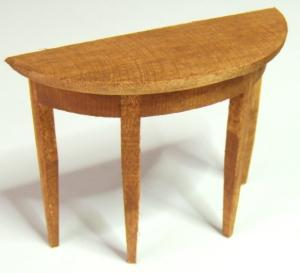 Konsolbord - brunbetsat