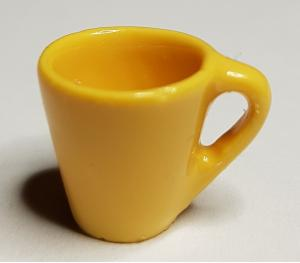 Kaffemugg - gul