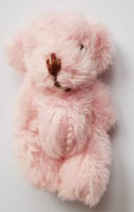 Nalle - rosa - lurvig