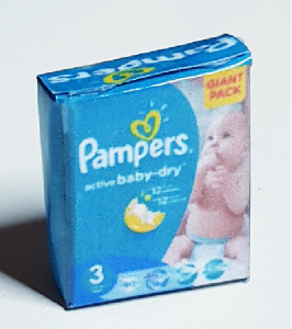 Blöjor - Pampers