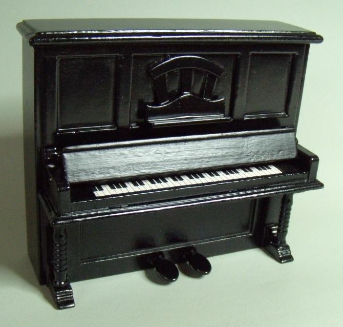 Piano - svart