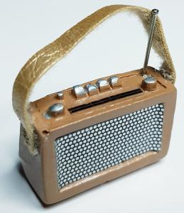 Radio - brun