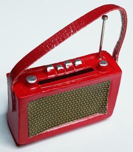 Radio - röd
