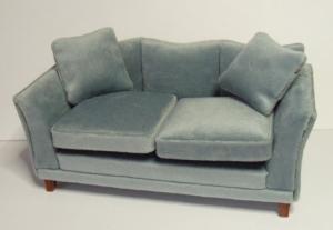 Soffa - blå/grå