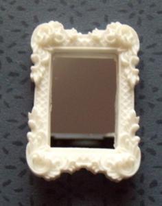 Spegel - vit