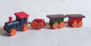 Tåg - flerfärgat