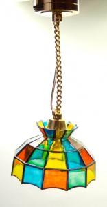 Taklampa - Tiffany - batteri (LED)