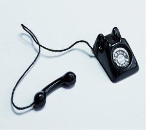 Telefon - svart