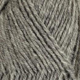 Kall gråmelerad 113 - 3tr strikkegarn 50g
