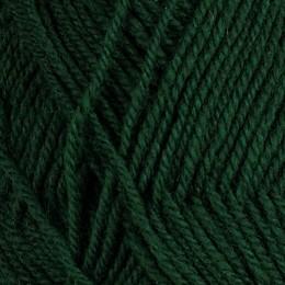 Djupgrön 123 - 3tr strikkegarn 50g