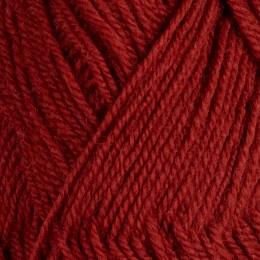 Kopparröd 127 - 3tr strikkegarn 50g