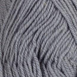 Blågrå 1287 - 3tr strikkegarn 50g