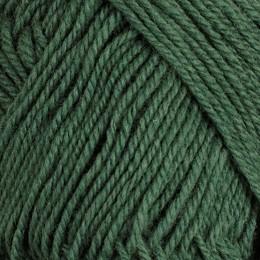 Dämpad grön 132 - 3tr strikkegarn 50g