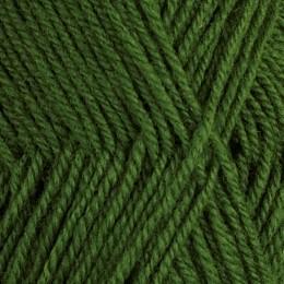Grön 145 - 3tr strikkegarn 50g