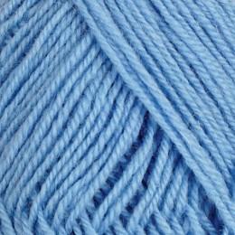 Himmelblå 155 - 3tr strikkegarn 50g