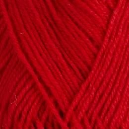 Högröd 174 - 3tr strikkegarn 50g