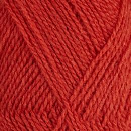 Dämpad röd 469 - Finullgarn 50g