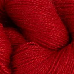 Röd 635 - 2-tr prydvevgarn 100g