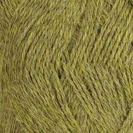 Melerad äppelgrön 743 - Inca Alpakka 50g