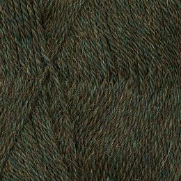 Skogsgrön melerad C830 - Inca Alpakka 50g