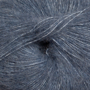 Jeansblå 6555 - Alpakka lin 50g