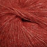 Dämpad röd 6932 - Alpakka lin 50g