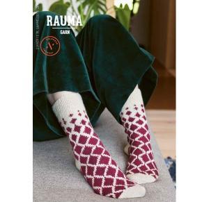 268 Sokker i 2 tr. gammelserie - Rauma mönsterhäfte
