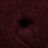 Vinröd 4718 - Alpaca silk 25g